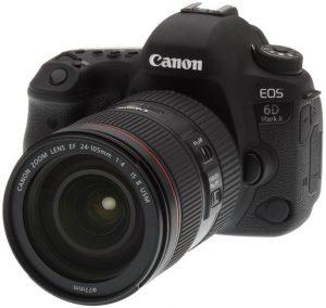 Canon EOS 6D Mark II Kit 24-105mm f/4 L IS II (Mới 100%) – Bảo hành 01 năm