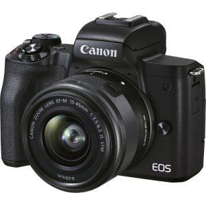Canon EOS M50 Mark II kit 15-45 IS STM (Mới 100%) Bảo hành chính hãng 02 năm trên toàn quốc
